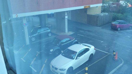 Premier Inn Southampton City Centre Hotel: Car park