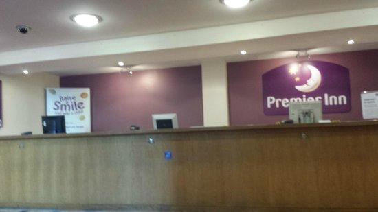 Premier Inn Southampton City Centre Hotel: Reception