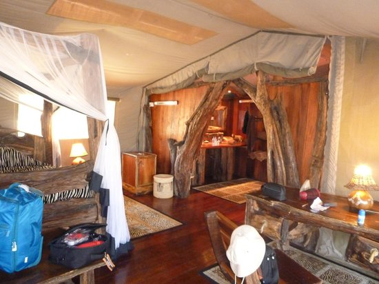 Royal Mara Safari Lodge: Beautiful rooms