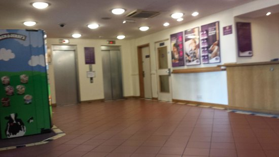 Premier Inn Southampton City Centre Hotel: The dreaded lift !