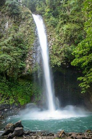 Alberto's Horses: La Fortuna waterfall
