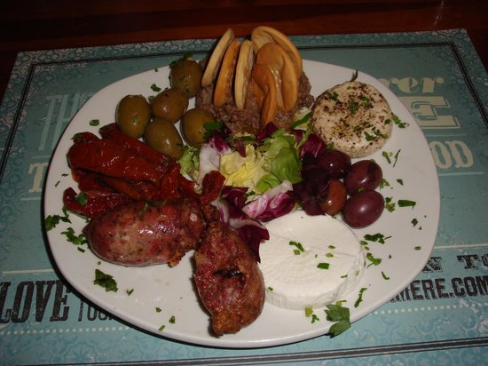 La Mere Restaurant: Malta plate