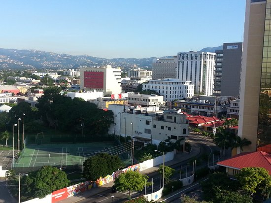 The Courtleigh Hotel and Suites: View of New Kingston from the Courtleigh