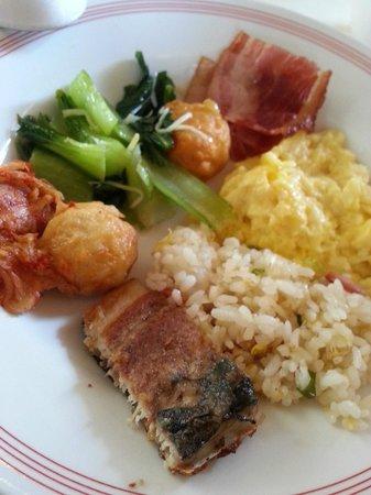 La Plaza Hotel: Breakfast
