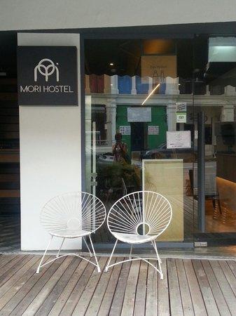 Mori Hostel: Facade hostel