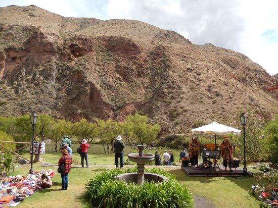 Tunupa Valle Sagrado : the view