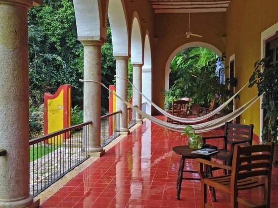 Hacienda San Jose, A Luxury Collection Hotel, San Jose: Casa Patron terrace