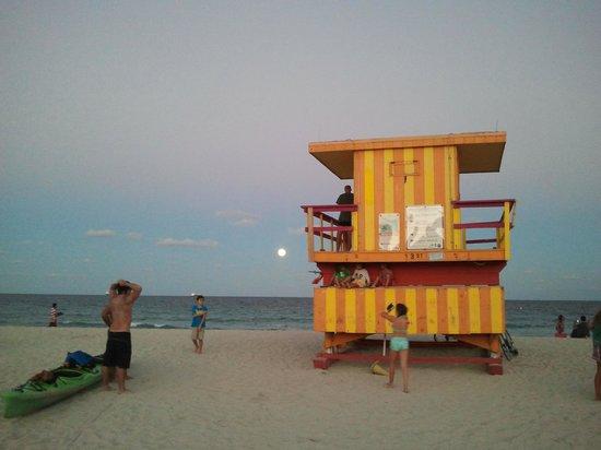 Sense Beach House: praia em frente ao hotel