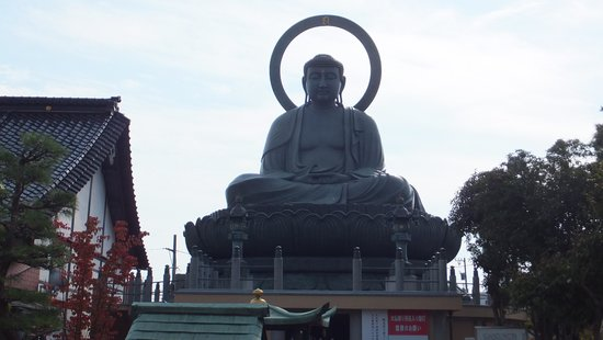 Takaoka Daibutsu Buddha : でーん