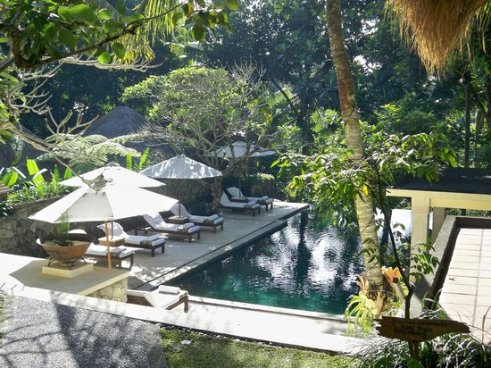 Komaneka at Monkey Forest: View of Pool