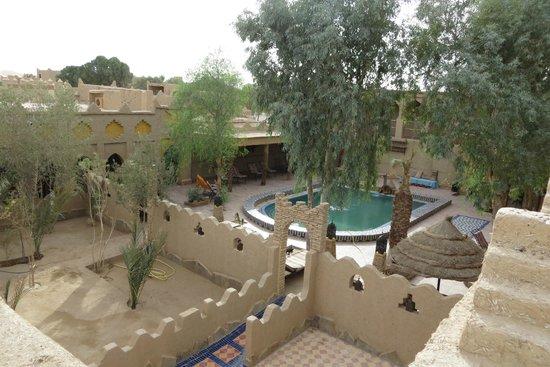 Hotel Kasbah Mohayut: Intérieur de la kasbah