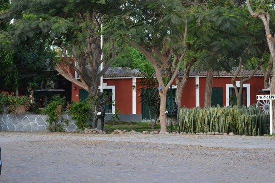 Hotel Majoro: Trädgården