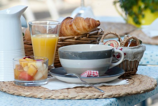 Hotel de la Plage : petit déjeuner