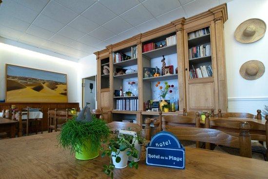 Hotel de la Plage : Salle à manger