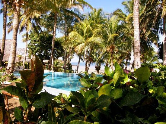 Vanila Hotel & Spa: Jardin et piscine