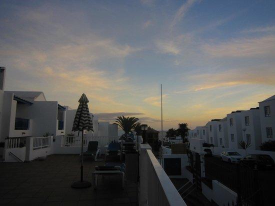 Apartamentos Isla de Lobos: View from the upper terrace