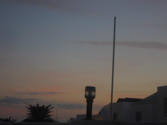 Apartamentos Isla de Lobos: Nice sky in the evening
