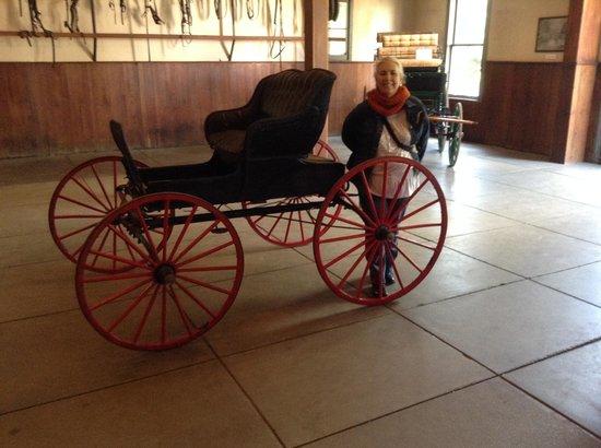 Belle Meade Plantation : Carriages galore