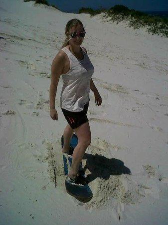 SA Forest Adventures: sandboarding