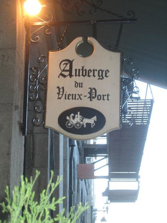 Auberge du Vieux-Port: Old Time Charm hotel