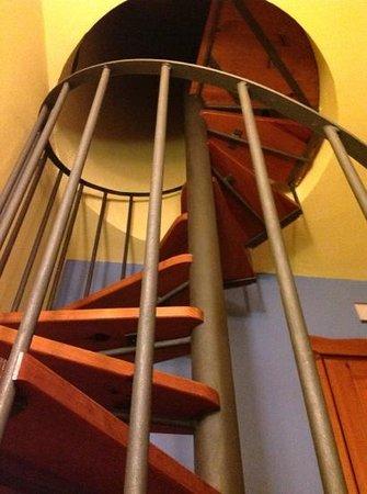 Caminito Del Re : escalera caracol