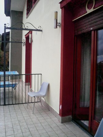 Royal Hotel Montevergine: terrazzino