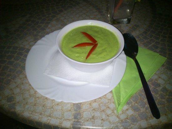 Casa Satya: Zuppa avocado