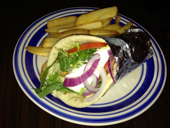 Olive's Torch: Gyro lunch portion