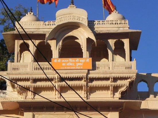 Shankar Palace Hotel: Pushkar Mandir