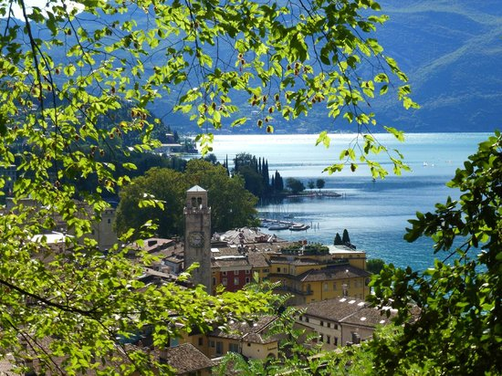 Villa Nicolli Romantic Resort : View from Riva Castle walk