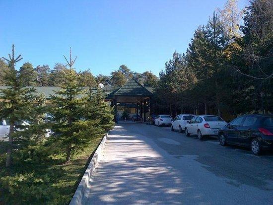 Buyuk Abant Oteli: Entrance