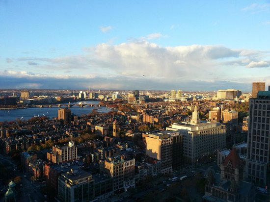 The Westin Copley Place, Boston: the view!!