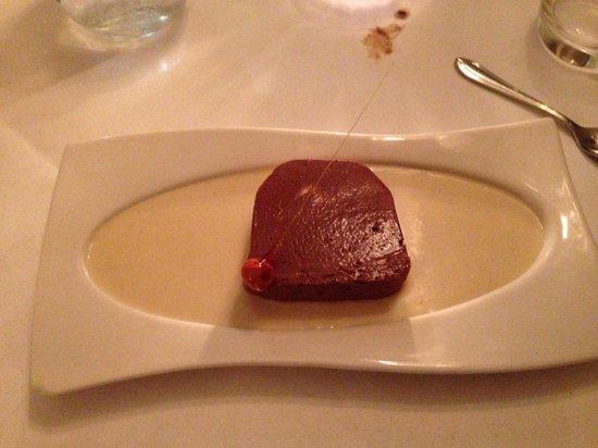 Les Saveurs Restaurant: Chocolate terrine