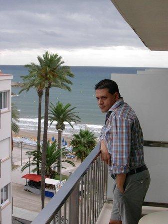 Hotel Subur Maritim: vista dalla camera dell albergo