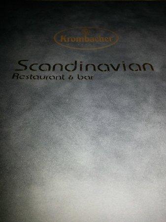 Scandinavian: The Menu