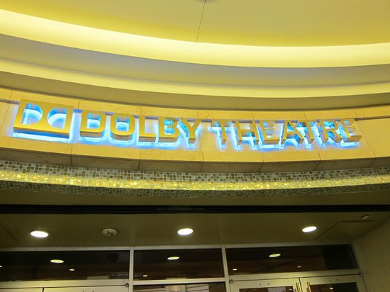 Dolby Theatre : The Dolby Theater