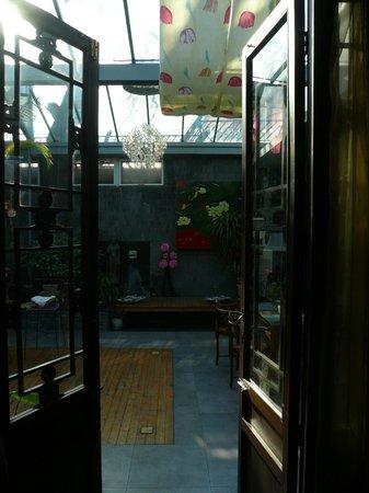 View into the courtyard, Kellys Courtyard Bejing