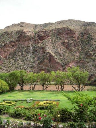 Tunupa Valle Sagrado : vistas desde el restaurante