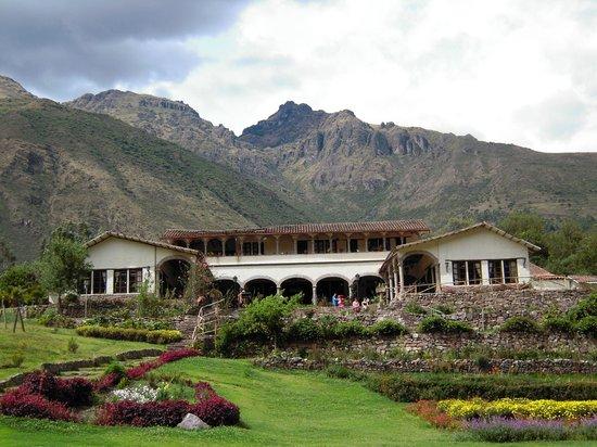 Tunupa Valle Sagrado: vista del restaurante