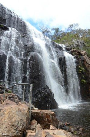 McKenzies Falls: Mackenzie Fall's base