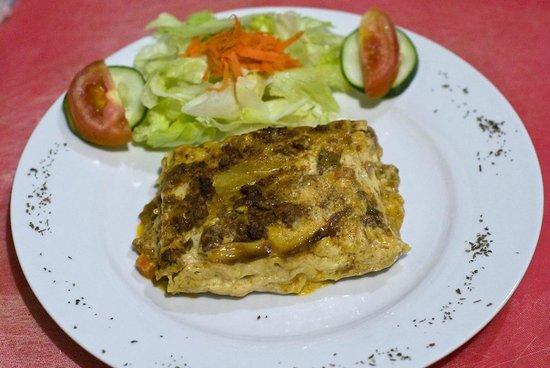 Restaurante La Galeria: lasaña carne