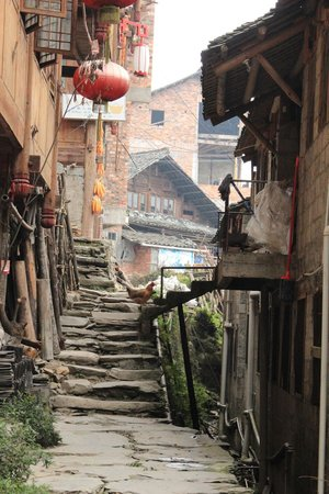 "Longsheng County, China: Pingan ""street"""