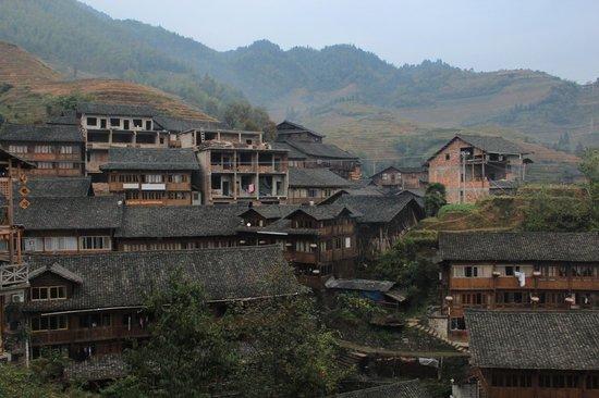 Ping'an Village : View of Pingan