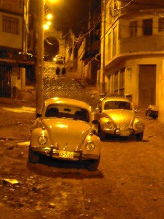 Casa Andina Standard Puno: la calle donde esta el hotel