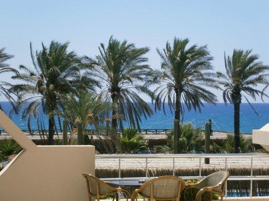 Nashira Resort Hotel & Aqua-Spa: Вид из лобби.