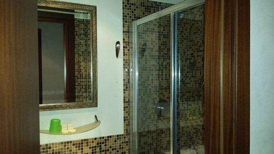 Albergo Piave: il bagno