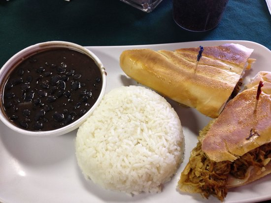 Coco's Cuban: Pork sandwich- awesome!!