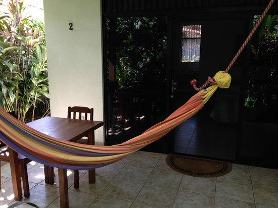 Hotel Colinas del Sol: front porch