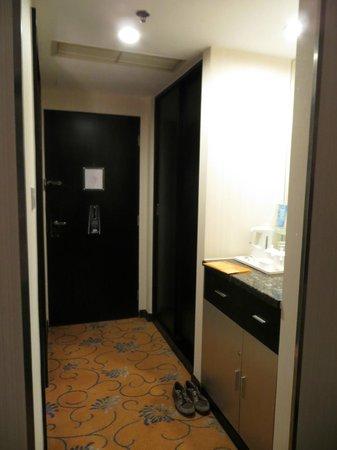 โรงแรมพลาซ่า ปักกิ่ง: прихожая