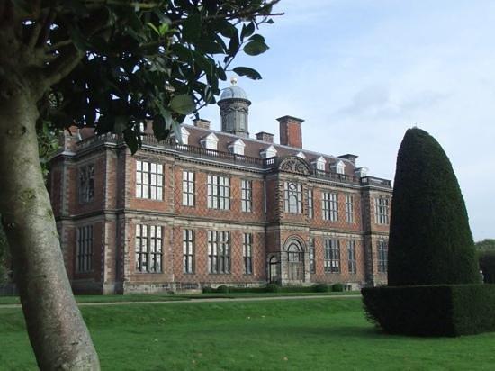 sudbury Hall from the gardens